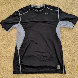 Nike dri fit boys Pro Combat tee EUC